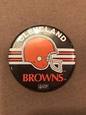 "Vintage Cleveland Browns NFL Football 3"" button"