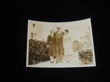 Babe Ruth with daughter Julia Ruth B&W 5x7 Photo