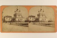 Suisse Eglise Russe A Geneve Russie Foto Stereo Vintage Albumina c1870