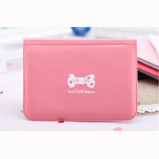 Smart Women Bowknot Business ID Credit Cute Card Pocket Bag Wallet Holder Case