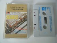 THE BEATLES PLEASE PLEASE ME CASSETTE TAPE EMI PARLOPHONE UK 1970