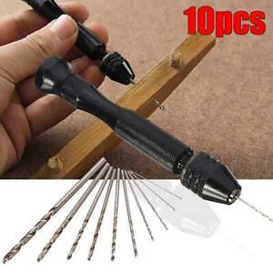 Mini Small Micro HSS Twist Drill Bits Set 0.6-2mm Hand DIY Model Craft Tools UK·