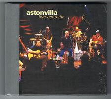 ASTON VILLA - LIVE ACOUSTIC - DIGIBOOK CD + DVD - 2001 - NEUF NEW NEU