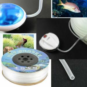 Silikon Luftschlauch 4mm 100 m Aquariumschlauch PVC Schlauch für Aquarium Teich