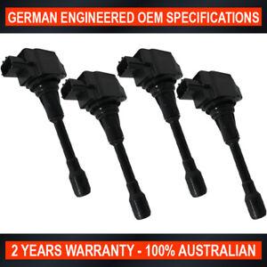 Set of 4 OEM Quality Ignition Coil for Renault Koleos 2008-2016 2.5L 16V 2TR