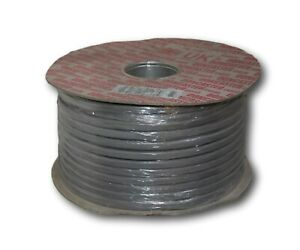 4mm² Twin Core & Earth Cable Socket Electric Wire Grey 6242Y 100m Reel
