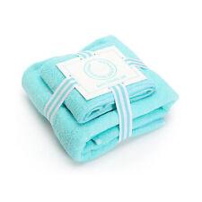 Diamond Supply Co Wreath Logo Two Piece Bath Towel Set Mint Blue