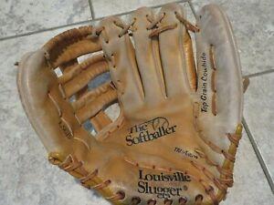 Louisville Slugger LSG15 The Softballer Leather SOFTBALL/Baseball Glove Mitt LHT
