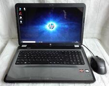 """HP 17"""" Laptop mit AMD A8 Quad-Core, HD 6620G + 7450M, 6GB Ram, 750GB HDD, Win 10"""