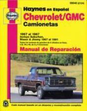 Chevrolet/GMC camionetas 1967 al 1987: Incluye Suburban, Blazer & Jimm-ExLibrary