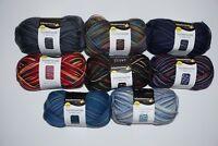 8 x 100 gr. Sockenwolle/Strumpfwolle Schachenmayr Color