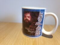 Official TM Warner Bros Harry Potter Hagrid Collectable Tea Coffee Mug *RARE*