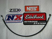 "LOOK MOM BLACKOUT! *NEW 3AN-3AN-24"" NITROUS OR FUEL LINE/HOSE NOS/NX/ZEX 1-LINE!"