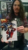 Rare limited Venom 1 Clayton Crain Signed Exclusive Variant Virgin Cover  w/Pic
