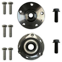 Vw Audi Seat Skoda 2x Front Hub Wheel Bearing Kit 3 Bolt Fixing Pair Left Right