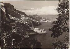 AMALFI - LA COSTIERA VISTA DAL CAPO DI CONCA (SALERNO) 1954