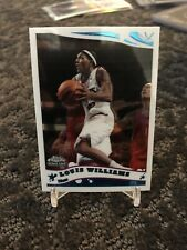 2005-06 Topps Chrome LOUIS LOU WILLIAMS Rookie Card RC SP #213 76ers Clippers