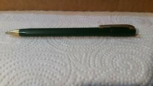 """Vintage Green and Gold Trim """"Stratford"""" Working Mech Pencil"""