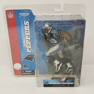 NFL Julius Peppers #90 Action Figure Carolina Panthers by McFarlane Toys 2003