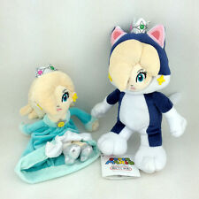 Princess Rosalina Normal & Cat Form Super Mario Bros Plush Toy Stuffed Animal 8""
