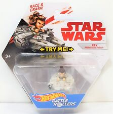 Star Wars Battle Rollers Rey Millennium Falcon Hot Wheels