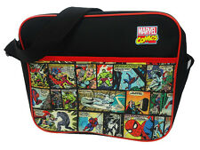 Marvel Comics Colour Courier Messenger Shoulder School Bag