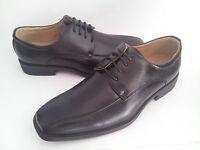 Zapatos cordones color negro de vestir para hombre talla 39 40 41 42 43 44 45