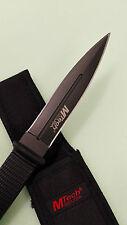 M-TECH USA Double edged Multifuncational Military Knife With Sheath