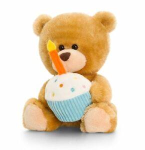 Keel SB0305 Pipp the Bear Happy Birthday with Organza Pull String Bag