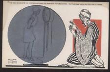 Postcard YOGI-SWAMI METAMORPHIC CRYSTAL BALL FORTUNE TELLING CARD #3 1929