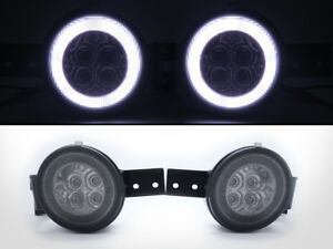 LED Turn Signal Indicator Halo Ring Light Smoke For Mini Cooper R50 R52 R53 S