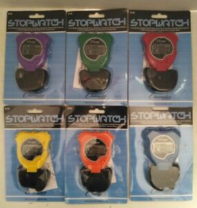 New Champion 910 All Sports Walking Running Stopwatch Timer Daily Alarm