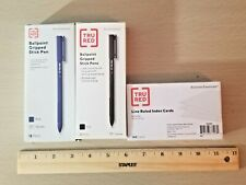 4 Items Pens, Index Cards, Rulers Hb-113 Comb/Ship Available