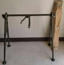 Unused Pair of Brenner Aluminum Military Folding Support Litters ( Sawhorses )