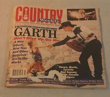 Garth Brooks, Lynn Anderson George Ducas Ralph Emery Country Weekly Magazine Jul