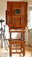 BENTZIN 1896 wooden camera Holz-Kamera wood 60x60 museal dream condition top 2 M