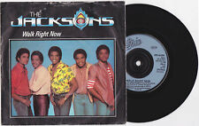 "Michael Jackson Jacksons WALK RIGHT NOW Disque 45t 7"" Vinyl Single Record 1981"