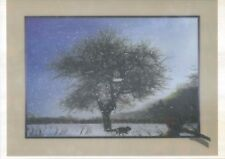 snowy landscape animal 5D Lenticular  Holographic Stereoscopic Picture Wall Art