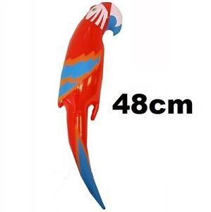 Inflatable Parrot Novelty Pirate Fancy Dress Shoulder Parrot 48cm New h