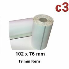 102x76mm thermoetiketten cebra ql420, ql 420 Plus, p4t, rp4t/3003073