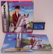 Barbie Horse Adventures Blue Ribbon Race (GBA) COMPLETE