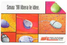 CONVEGNO SMAU 1998 SCHEDA TELEFONICA TELECOM 874 a
