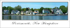 Poster Panorama Portsmouth New Hampshire Panoramic Fine Art Print Photo 12x30