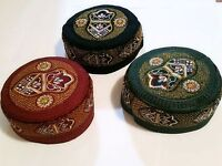 Turkish Cap topi Kufi skull Hat Muslim Islamic prayer Namaz Beanie - 3 Color