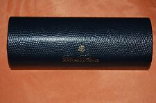 BROOKS BROTHERS  NAVY  GLASSES CASE NEW