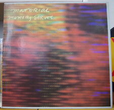 MATERIAL MEMORY SERVES  FRENCH LP CELLULOID 1981