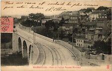 CPA MARSEILLE Pont et Vallon Fausse Monnaie (404841)