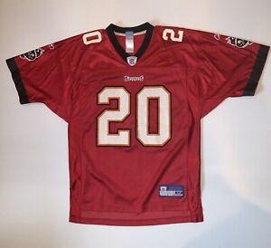 Ronde Barber Reebok NFL #20 Tampa Bay Buccaneers Jersey. Mens Medium.