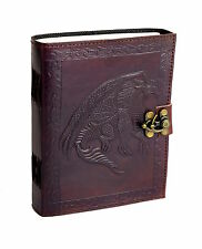 Dragon Tale Vintage Leather Notebook Journal Diary PREMIUM PAPER Handmade India