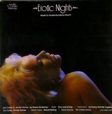 Erotic Nights (1985) Joe Cocker, Sade, Diana Ross, Tina Turner, Stevie Wo.. [LP]